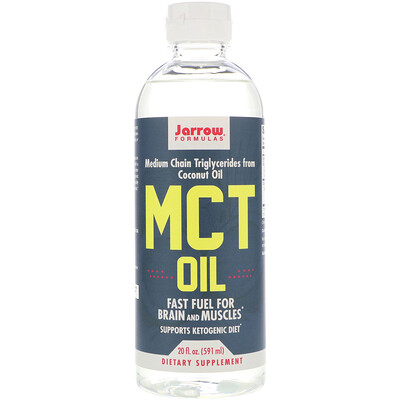 Купить Jarrow Formulas Масло MCT, 20 жид. унц. (591 мл)
