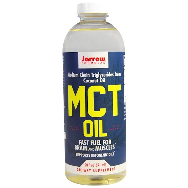 Jarrow Formulas, MCT オイル、 20 fl oz (591 ml)