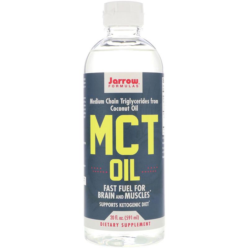 Jarrow Formulas, MCT 油, 20 fl oz (591 ml)