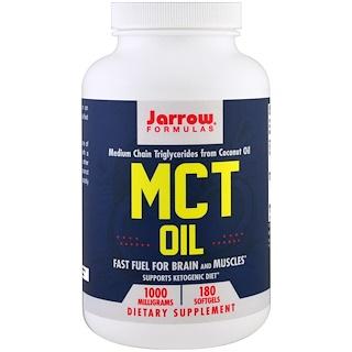 Jarrow Formulas, MCT Oil, 1000 mg, 180 Softgels
