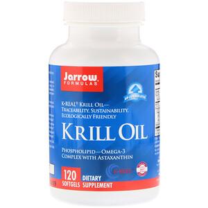 джэрроу формулас, Krill Oil, 120 Softgels отзывы
