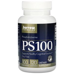 джэрроу формулас, PS 100, Phosphatidylserine, 100 mg, 120 Softgels отзывы