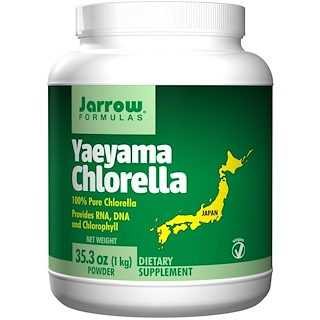 Jarrow Formulas, Yaeyama Chlorella, Powder, 35.3 oz (1 kg)