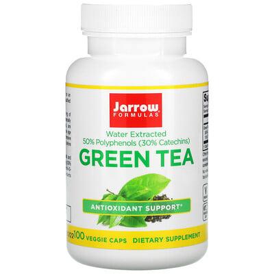 Jarrow Formulas зеленый чай, 500мг, 100вегетарианских капсул  - купить со скидкой