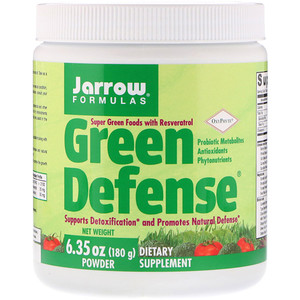 джэрроу формулас, Green Defense Powder, 6.35 oz (180 g) отзывы покупателей