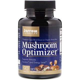 Jarrow Formulas, Mushroom Optimizer, 90 Capsules