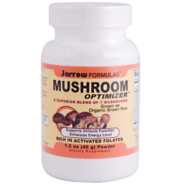 Jarrow Formulas, Mushroom Optimizer, 1.5 oz (45 g) Powder (Discontinued Item)