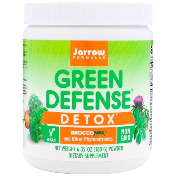 Jarrow Formulas, Средство для детоксикации Green Defense, 6,35 унц. (180 г)