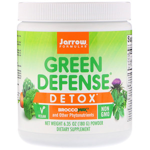 джэрроу формулас, Green Defense Detox Powder, 6.35 oz (180 g) отзывы