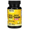 Jarrow Formulas, Methyl B-12 & Methyl Folate, Lemon, 100 Lozenges