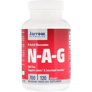 Jarrow Formulas, N-A-G, 700 mg, 120 Cápsulas Vegetarianas