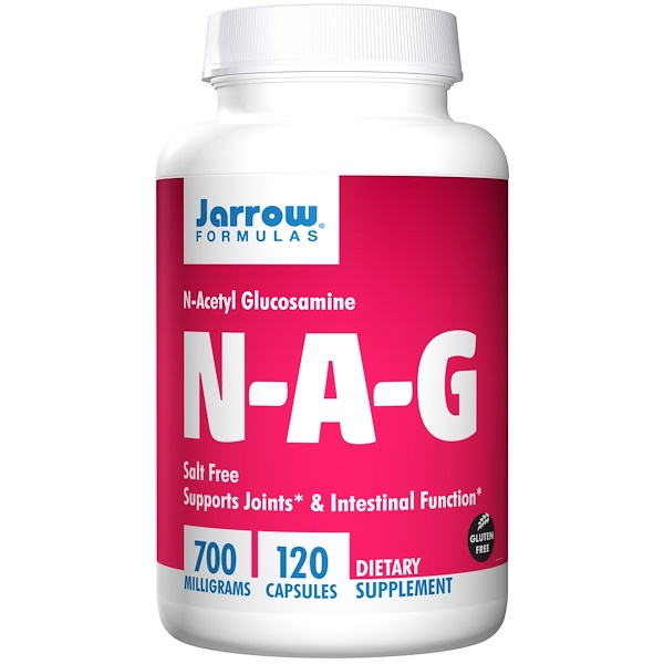 Jarrow Formulas, NAG,700 毫克,120 粒素食膠囊