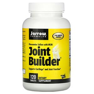 джэрроу формулас, Joint Builder, Glucosamine Sulfate with MSM, 120 Tablets отзывы покупателей