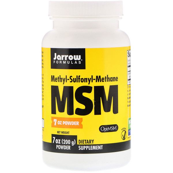 Jarrow Formulas, MSM, Powder, 7 oz (200 g)