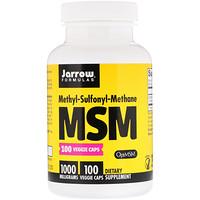 Jarrow Formulas, MSM, 1,000 mg, 100 Veggie Caps