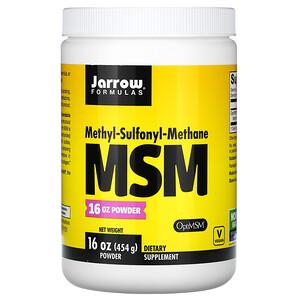 джэрроу формулас, MSM Powder, 16 oz (454 g) отзывы