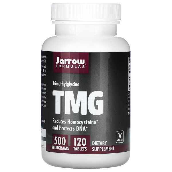TMG, Trimethylglycine, 500 mg, 120 Tablets