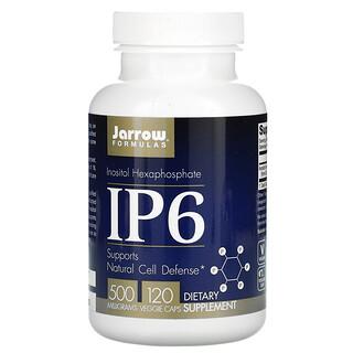 Jarrow Formulas, IP6, Inositol Hexafosfato, 500 mg, 120 Cápsulas Vegetais