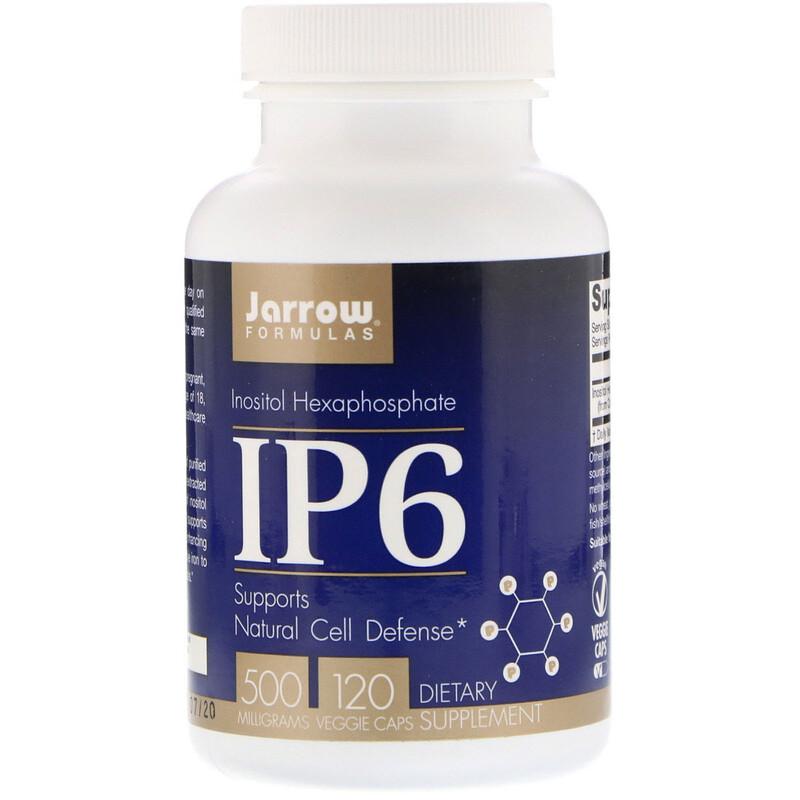 IP6, Inositol Hexaphosphate, 500 mg, 120 Veggie Caps