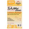 Jarrow Formulas, Natural SAM-e (S-Adenosyl-L-Methionine) 200, 200 mg, 20 Enteric-Coated Tablets