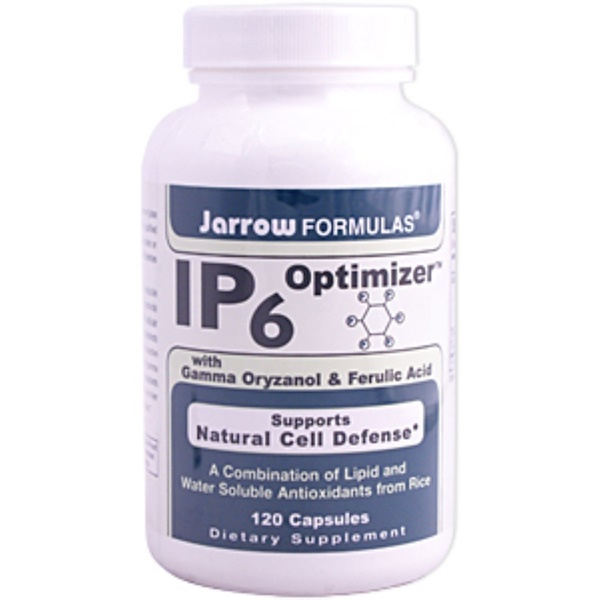 Jarrow Formulas, IP6 Optimizer with Gamma Oryzanol & Ferulic Acid, 120 Capsules (Discontinued Item)