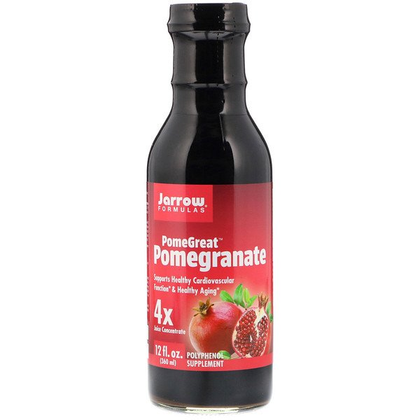 Jarrow Formulas, PomeGreat Pomegranate, 12 fl oz (360 ml)