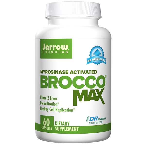 Jarrow Formulas, BroccoMax, Myrosinase Activated, 60 Veggie Caps