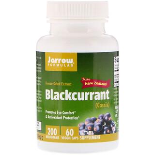 Jarrow Formulas, Blackcurrant, 200 mg, 60 Veggie Caps