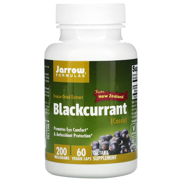 Черная смородина, 200 мг, 60 вегетарианских капсул