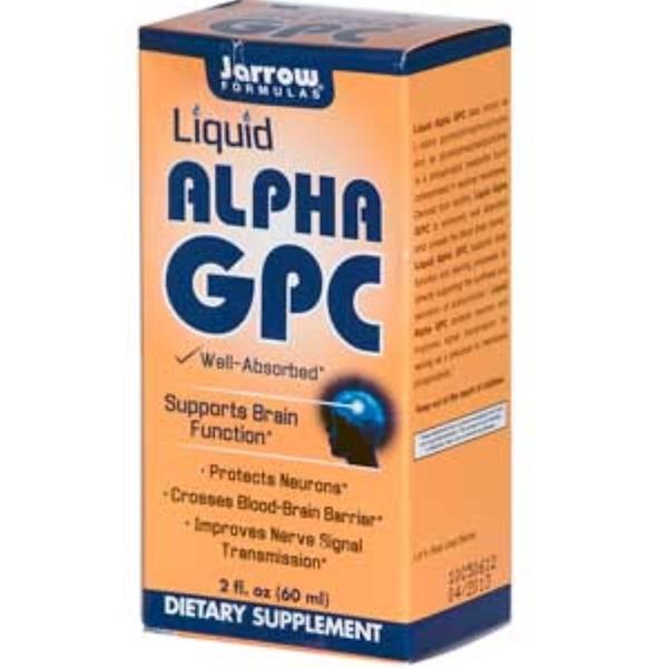 Jarrow Formulas, Alpha GPC, Liquid, 2 fl oz (60 ml) (Discontinued Item)