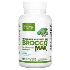 Jarrow Formulas, BroccoMax,120 粒緩釋素食膠囊