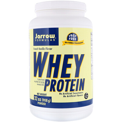 Whey Protein, French Vanilla, 2 фунта (908 г) qnt протеин qnt delicious whey protein банан 2 2 кг