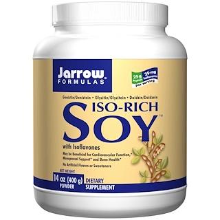 Jarrow Formulas, Iso-Rich Soy, Powder, 14 oz (400 g)
