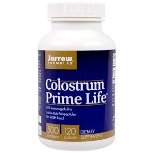 Jarrow Formulas, Молозиво Prime Life, 500 мг, 120 капсул