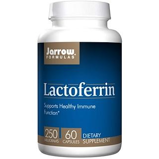 Jarrow Formulas, Lactoferrine, 250 mg, 60 Capsules
