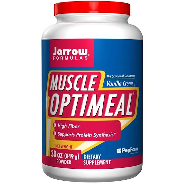 Jarrow Formulas, Muscle Optimeal Powder, Vanilla Creme, 30 oz (849 g)  (Discontinued Item)