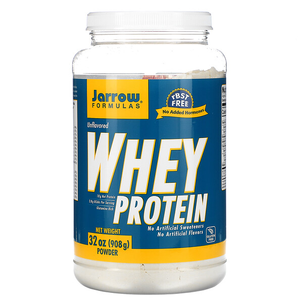 Whey Protein Powder, Unflavored, 32 oz (908 g)