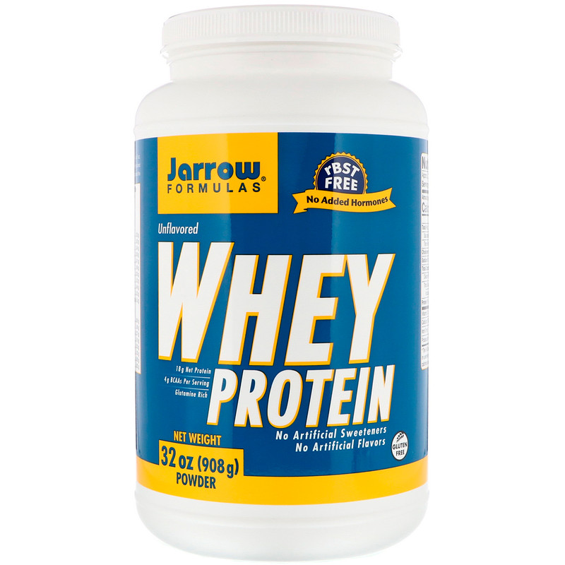 Whey Protein, Unflavored, 2 lbs (908 g)