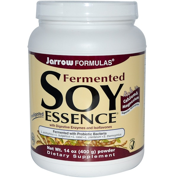 Jarrow Formulas, Fermented Soy Essence Powder, 14 oz (400 g) (Discontinued Item)