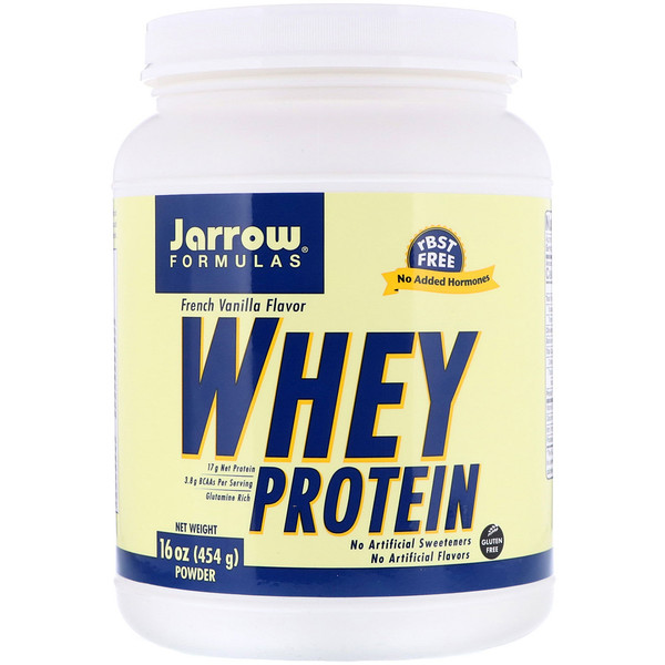 Jarrow Formulas, Whey Protein Powder, French Vanilla, 16 oz (454 g) (Discontinued Item)