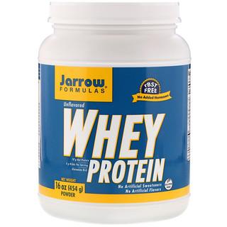 Jarrow Formulas, 100% Whey Protein Powder, Unflavored, 16 oz (454 g)