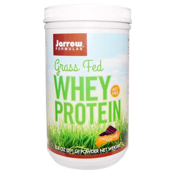 Jarrow Formulas, Сывороточный протеин Grass-Fed, со вкусом шоколада, 25.4 унций (720 г) (Discontinued Item)