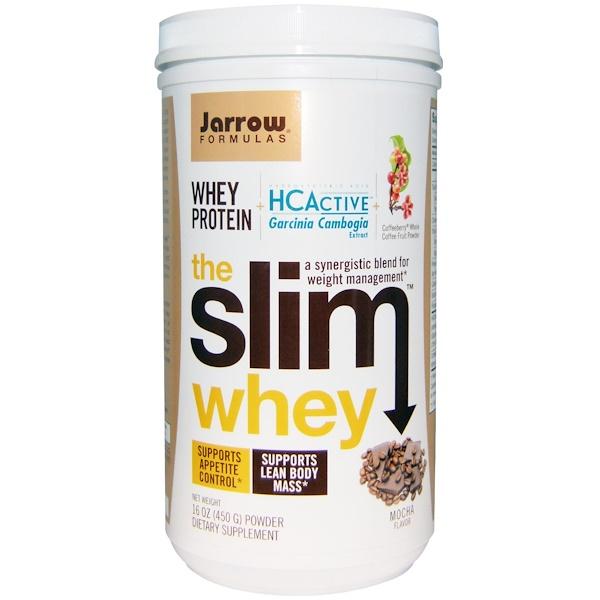 Jarrow Formulas, The Slim Whey, Mocha Flavor, 16 oz (450 g) (Discontinued Item)