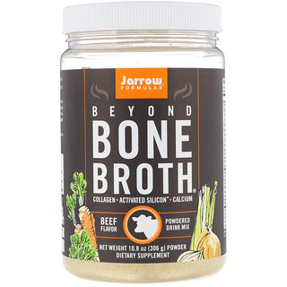 Jarrow Formulas, Beyond Bone Broth, Beef Flavor, 10.8 oz (306 g)