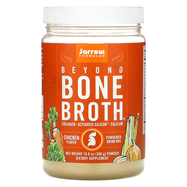 Beyond Bone Broth, Suplemento alimentario, Sabor a pollo, 306 g (10,8 oz)