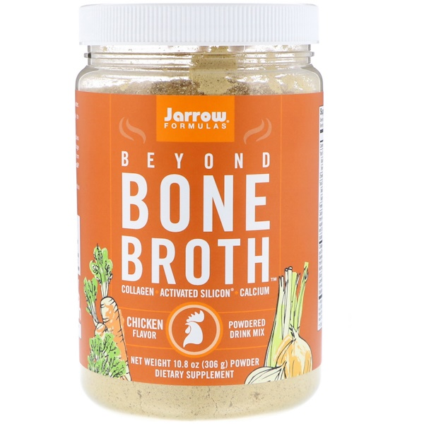 Jarrow Formulas, Beyond Bone Broth, Chicken Flavor, 10.8 oz (306 g)