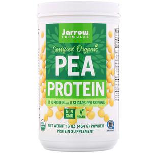 джэрроу формулас, Certified Organic Pea Protein, 16 oz (454 g) отзывы покупателей