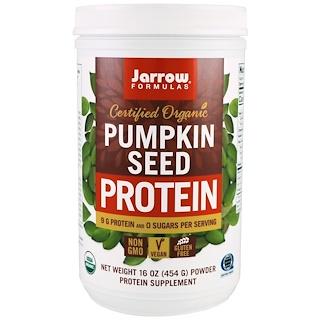 Jarrow Formulas, Certified Organic Pumpkin Seed Protein, 16 oz (454 g)