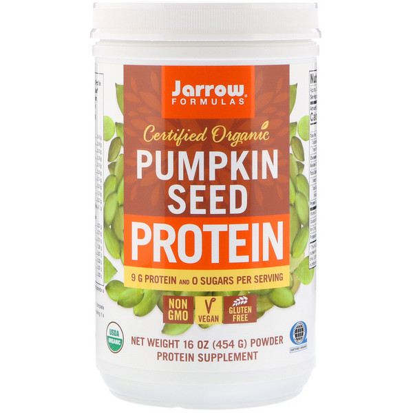 Certified Organic Pumpkin Seed Protein, 16 oz (454 g)