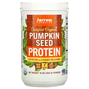 джэрроу формулас, Certified Organic Pumpkin Seed Protein, 16 oz (454 g) отзывы покупателей